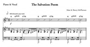 The Salvation Poem Sheet Music